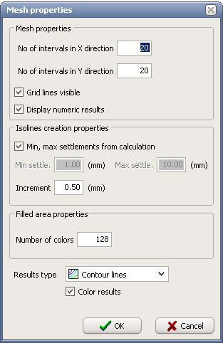 General Instructions Definition Of Calculation Grid